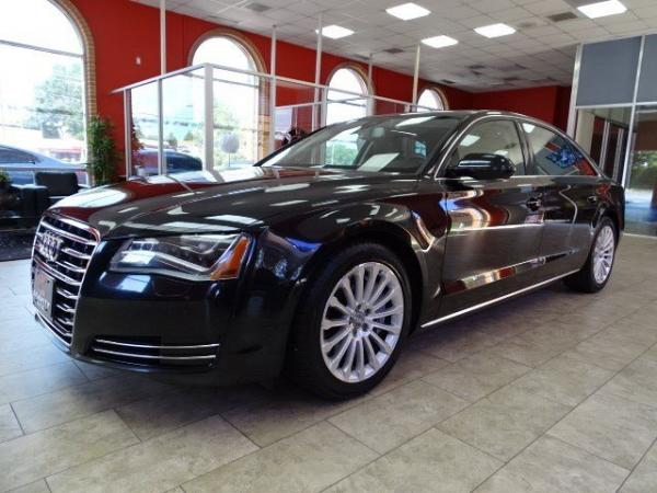 Used 2013 Audi A8 L 4.0L for sale Sold at Gravity Autos in Roswell GA 30076 3