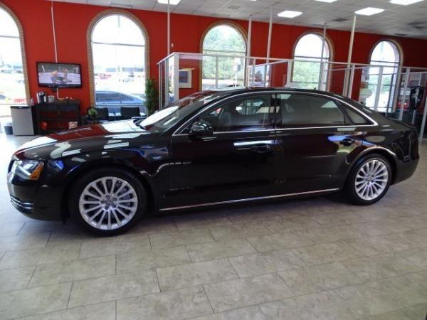 Used 2013 Audi A8 L 4.0L for sale Sold at Gravity Autos in Roswell GA 30076 4
