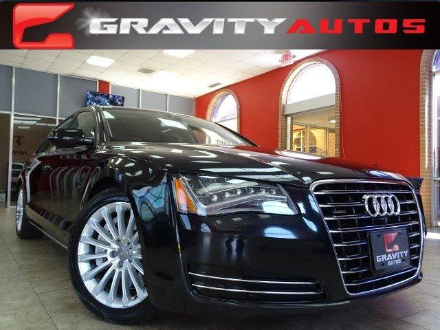 Used 2013 Audi A8 L 4.0L for sale Sold at Gravity Autos in Roswell GA 30076 1