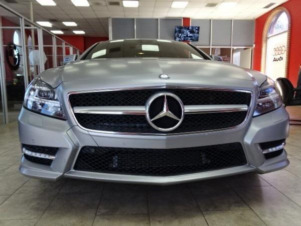 Used 2014 Mercedes-Benz CLS-Class CLS550 for sale Sold at Gravity Autos in Roswell GA 30076 2