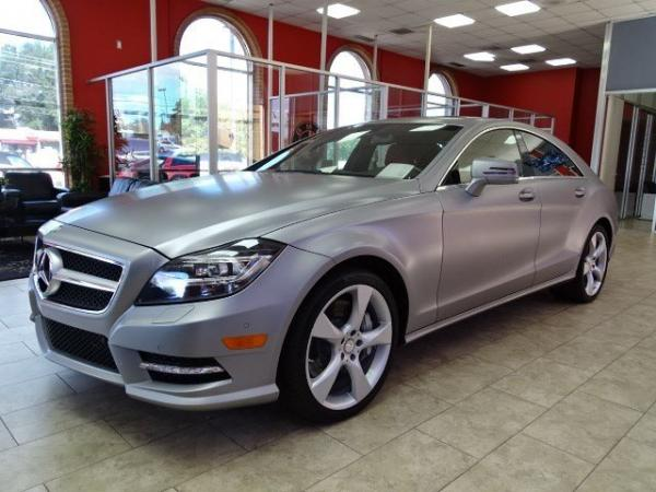 Used 2014 Mercedes-Benz CLS-Class CLS550 for sale Sold at Gravity Autos in Roswell GA 30076 3