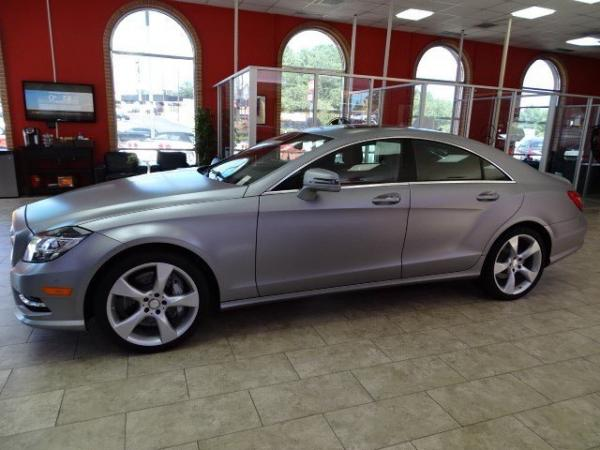 Used 2014 Mercedes-Benz CLS-Class CLS550 for sale Sold at Gravity Autos in Roswell GA 30076 4