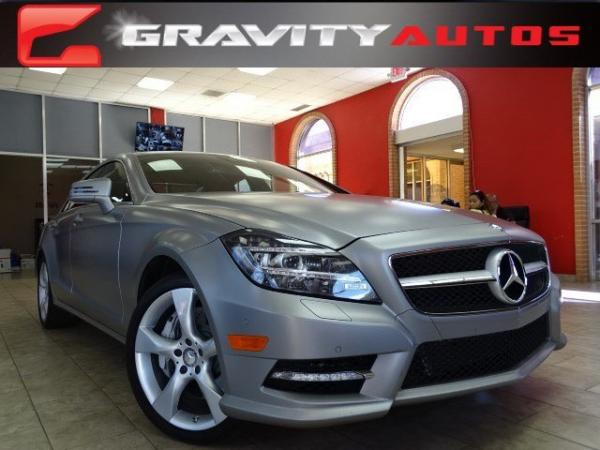 Used 2014 Mercedes-Benz CLS-Class CLS550 for sale Sold at Gravity Autos in Roswell GA 30076 1