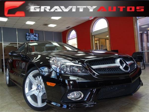 Used 2012 Mercedes-Benz SL-Class SL550 for sale Sold at Gravity Autos in Roswell GA 30076 1