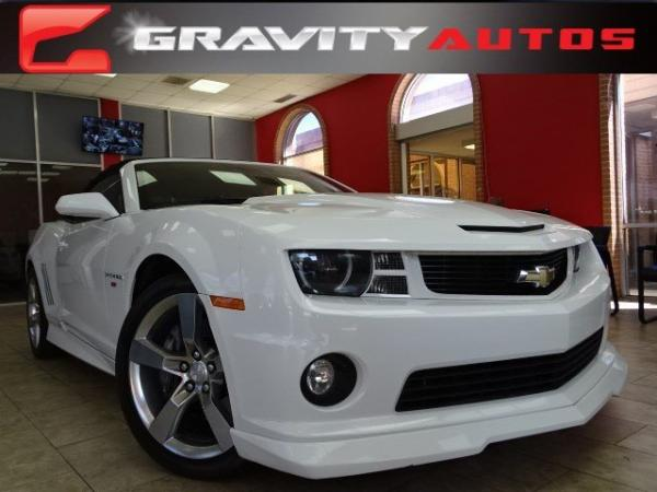 Used 2012 Chevrolet Camaro 2SS for sale Sold at Gravity Autos in Roswell GA 30076 1