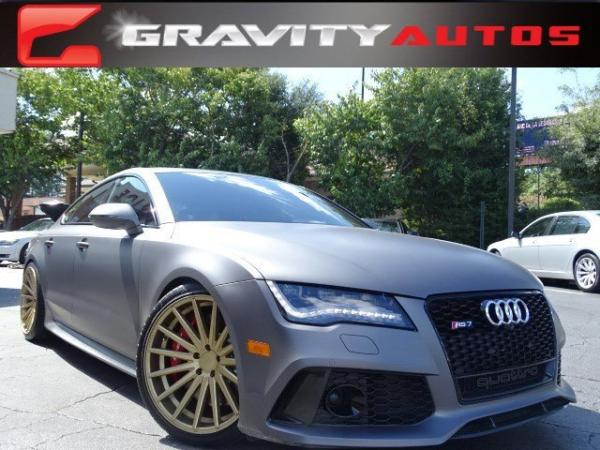 Used 2014 Audi RS 7 Prestige for sale Sold at Gravity Autos in Roswell GA 30076 1