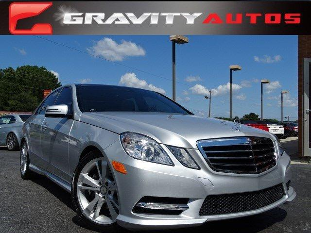 Used 2013 Mercedes-Benz E-Class E350 Sport for sale Sold at Gravity Autos in Roswell GA 30076 1