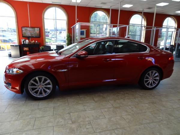 Used 2014 Jaguar XF I4 T for sale Sold at Gravity Autos in Roswell GA 30076 4