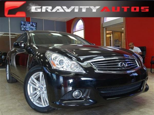 Used 2012 Infiniti G25 Sedan Journey for sale Sold at Gravity Autos in Roswell GA 30076 1