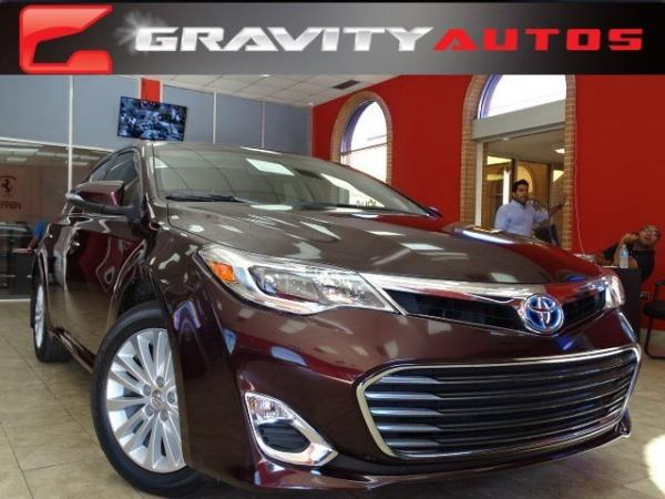 Used 2013 Toyota Avalon Hybrid Limited for sale Sold at Gravity Autos in Roswell GA 30076 1