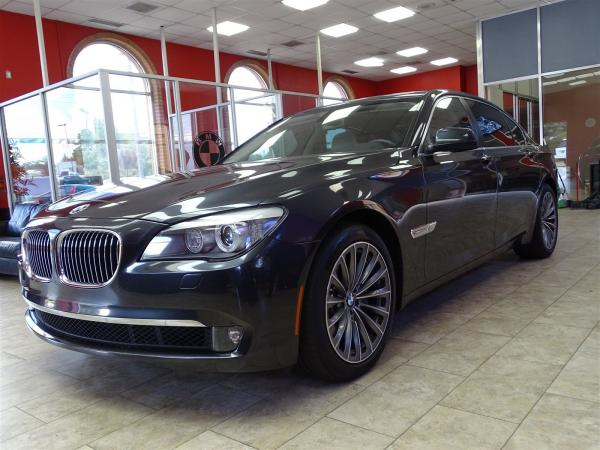 Used 2012 BMW 7 Series 740Li for sale Sold at Gravity Autos in Roswell GA 30076 3