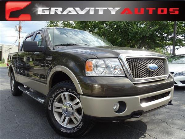 Used 2008 Ford F-150 Lariat for sale Sold at Gravity Autos in Roswell GA 30076 1
