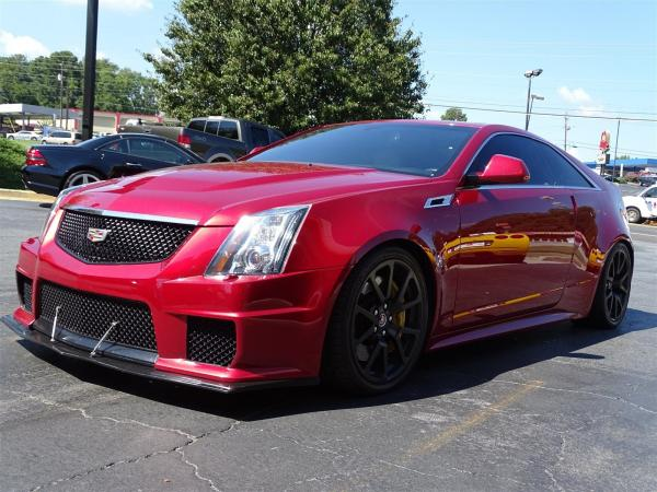 Used 2012 Cadillac CTS-V Coupe for sale Sold at Gravity Autos in Roswell GA 30076 3