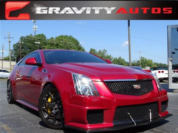 Used 2012 Cadillac CTS-V Coupe for sale Sold at Gravity Autos in Roswell GA 30076 1