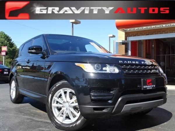 Used 2016 Land Rover Range Rover Sport V6 SE for sale Sold at Gravity Autos in Roswell GA 30076 1