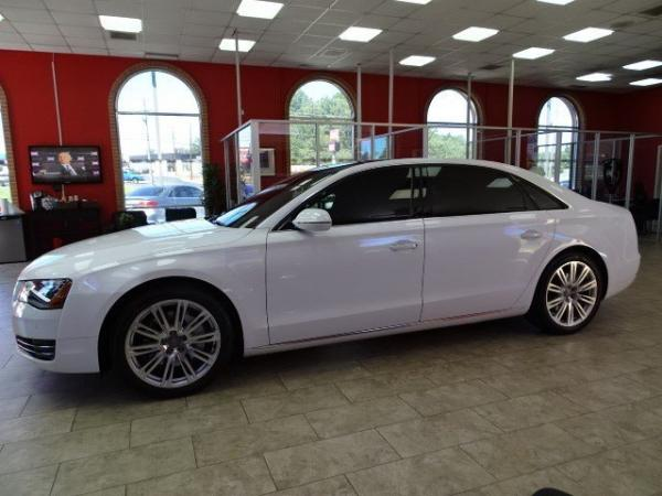 Used 2013 Audi A8 L 3.0L for sale Sold at Gravity Autos in Roswell GA 30076 4
