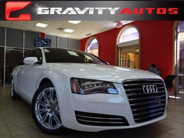 Used 2013 Audi A8 L 3.0L for sale Sold at Gravity Autos in Roswell GA 30076 1