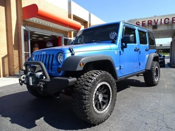 Used 2010 Jeep Wrangler Unlimited Rubicon for sale Sold at Gravity Autos in Roswell GA 30076 3
