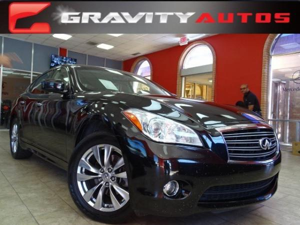 Used 2012 Infiniti M37 for sale Sold at Gravity Autos in Roswell GA 30076 1