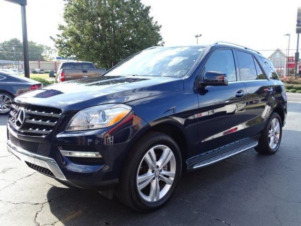 Used 2013 Mercedes-Benz M-Class ML350 for sale Sold at Gravity Autos in Roswell GA 30076 3