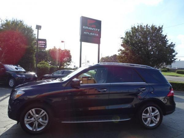 Used 2013 Mercedes-Benz M-Class ML350 for sale Sold at Gravity Autos in Roswell GA 30076 4