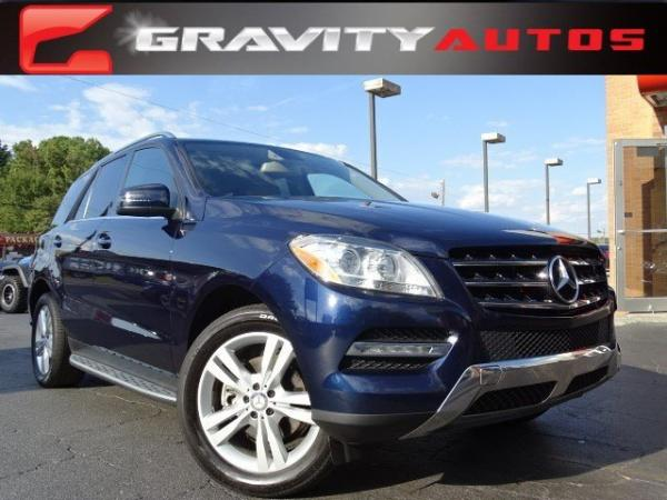 Used 2013 Mercedes-Benz M-Class ML350 for sale Sold at Gravity Autos in Roswell GA 30076 1