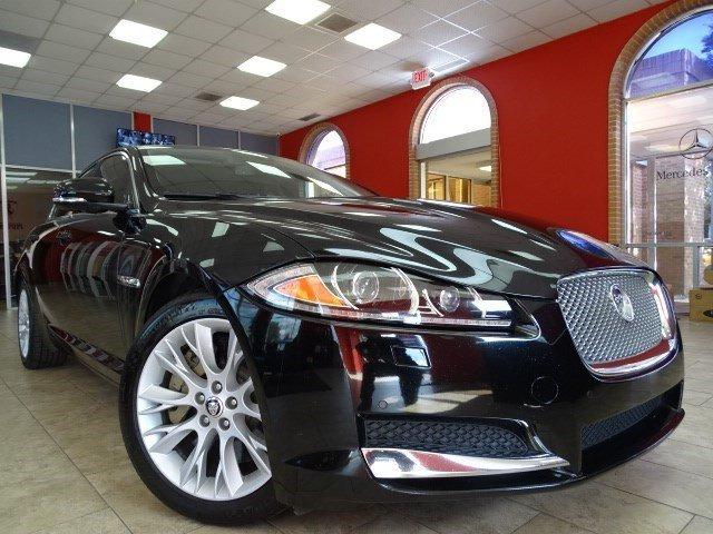 Used 2013 Jaguar XF XF V6 RWD for sale Sold at Gravity Autos in Roswell GA 30076 1