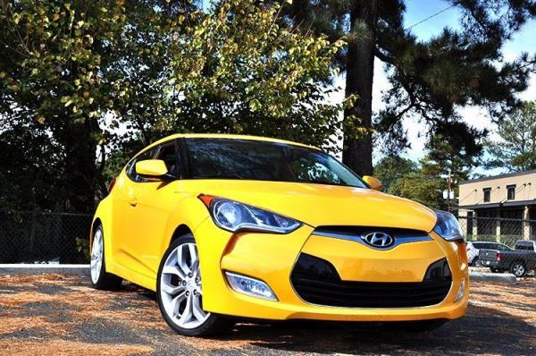 Used 2012 Hyundai Veloster w/Black Int for sale Sold at Gravity Autos in Roswell GA 30076 2