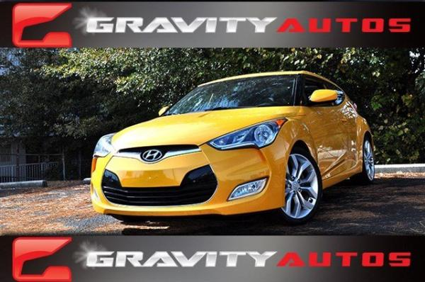 Used 2012 Hyundai Veloster w/Black Int for sale Sold at Gravity Autos in Roswell GA 30076 1