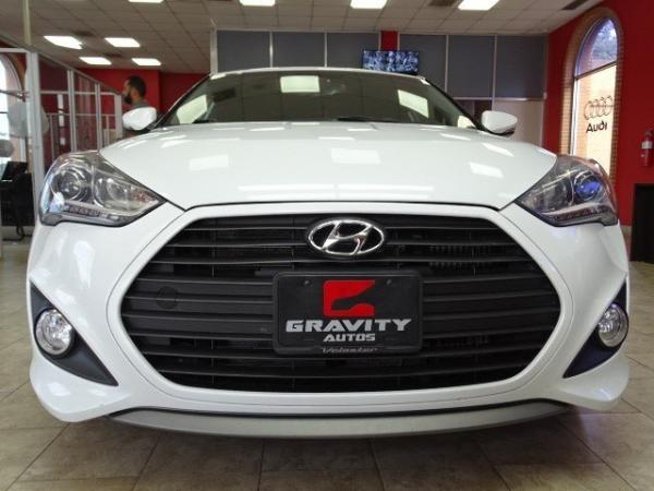 Used 2014 Hyundai Veloster Turbo for sale Sold at Gravity Autos in Roswell GA 30076 2
