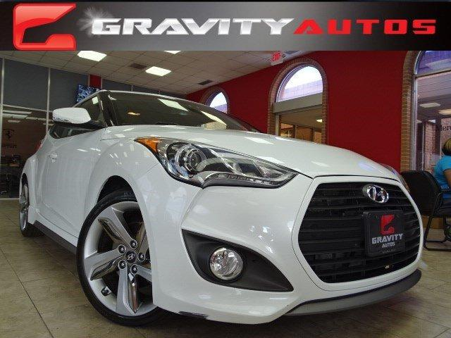 Used 2014 Hyundai Veloster Turbo for sale Sold at Gravity Autos in Roswell GA 30076 1