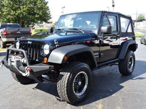 Used 2012 Jeep Wrangler Sport for sale Sold at Gravity Autos in Roswell GA 30076 3