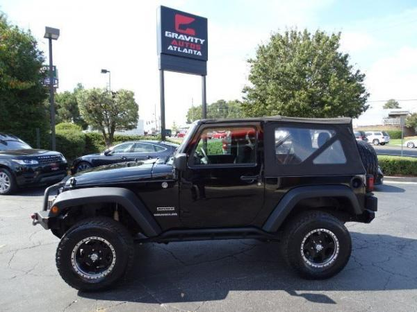 Used 2012 Jeep Wrangler Sport for sale Sold at Gravity Autos in Roswell GA 30076 4