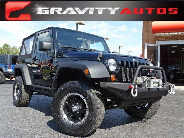 Used 2012 Jeep Wrangler Sport for sale Sold at Gravity Autos in Roswell GA 30076 1