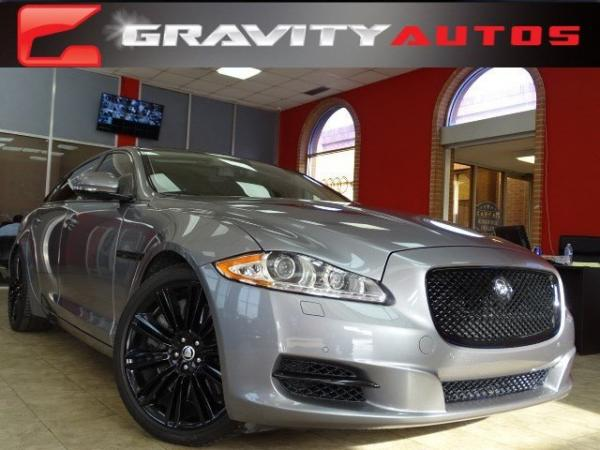 Used 2012 Jaguar XJ XJL Supercharged for sale Sold at Gravity Autos in Roswell GA 30076 1
