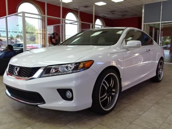 Used 2014 Honda Accord Coupe EX-L for sale Sold at Gravity Autos in Roswell GA 30076 3