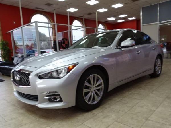 Used 2014 Infiniti Q50 Premium for sale Sold at Gravity Autos in Roswell GA 30076 3