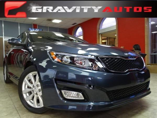 Used 2015 Kia Optima EX for sale Sold at Gravity Autos in Roswell GA 30076 1