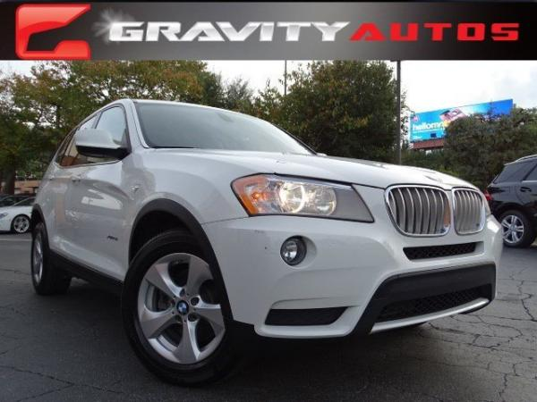 Used 2012 BMW X3 28i for sale Sold at Gravity Autos in Roswell GA 30076 1