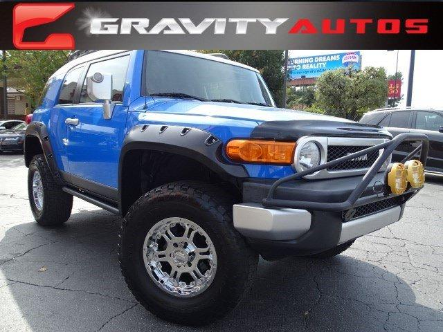 Used 2007 Toyota FJ Cruiser for sale Sold at Gravity Autos in Roswell GA 30076 1