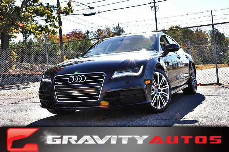 Used 2014 Audi A7 3.0 Prestige for sale Sold at Gravity Autos in Roswell GA 30076 1