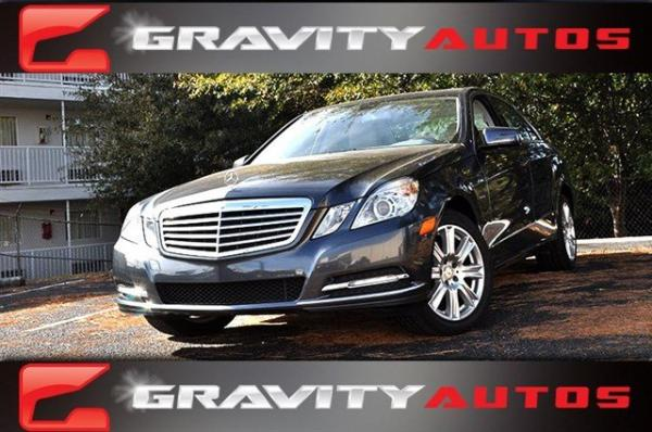 Used 2012 Mercedes-Benz E-Class E350 Luxury for sale Sold at Gravity Autos in Roswell GA 30076 1