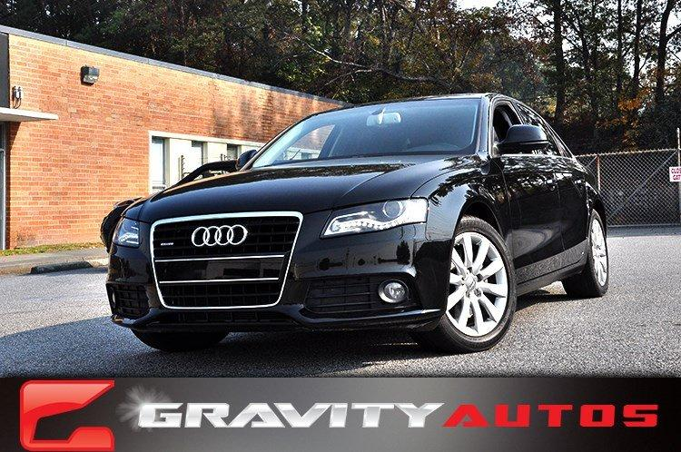 Used 2009 Audi A4 3.2L Prem Plus for sale Sold at Gravity Autos in Roswell GA 30076 1