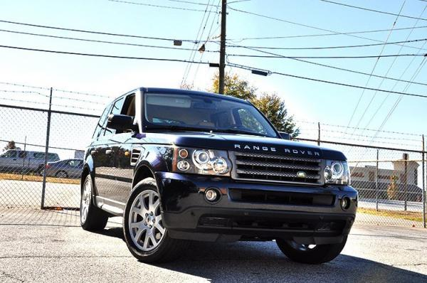 Used 2008 Land Rover Range Rover Sport HSE for sale Sold at Gravity Autos in Roswell GA 30076 2