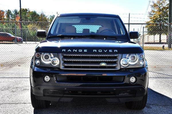 Used 2008 Land Rover Range Rover Sport HSE for sale Sold at Gravity Autos in Roswell GA 30076 3