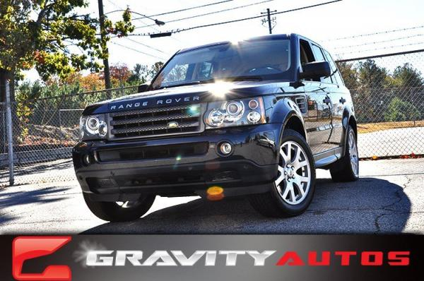 Used 2008 Land Rover Range Rover Sport HSE for sale Sold at Gravity Autos in Roswell GA 30076 1