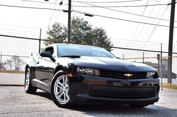 Used 2014 Chevrolet Camaro LS for sale Sold at Gravity Autos in Roswell GA 30076 2