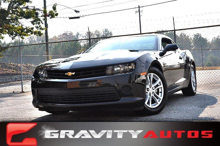 Used 2014 Chevrolet Camaro LS for sale Sold at Gravity Autos in Roswell GA 30076 1