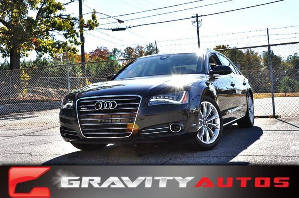 Used 2011 Audi A8 L for sale Sold at Gravity Autos in Roswell GA 30076 1