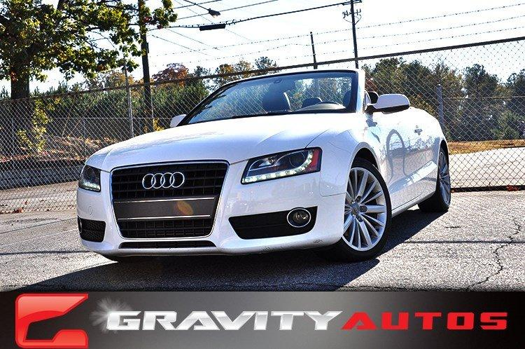 Used 2011 Audi A5 2.0T Premium Plus for sale Sold at Gravity Autos in Roswell GA 30076 1